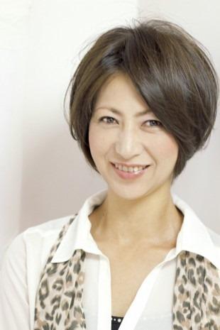 最新のヘアスタイル 50歳代髪型   !40代~